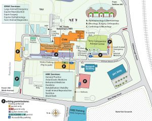 Map of CVM campus