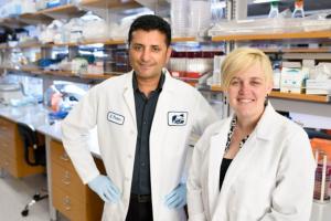 Dr. Sid Thakur and Dr. Megan Jacob