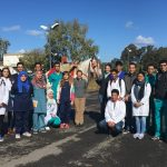Faculty and students in Morocco