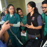 Liara Gonzalez teaching vet students in Morocco