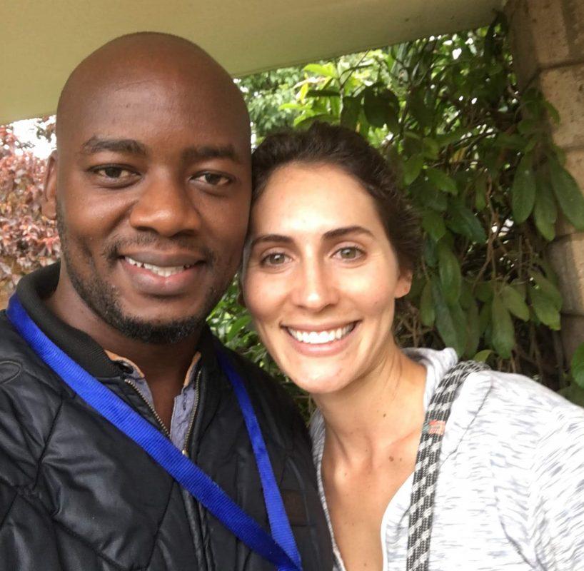 Hannah Varnell in Kenya